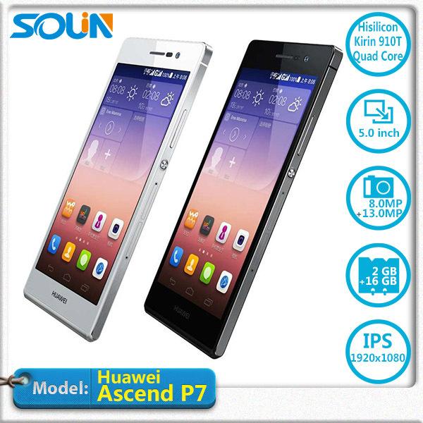 Мобильный телефон Huawei Ascend P7 4G LTE Android 4.4.2 5.0' incell ips 1920 * 1080pix 1,8 2 чехол для для мобильных телефонов for huawei ascend p7 huawei ascend p7