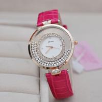 Luxury Gift New 2014 rhinestone Watches  Fashion brand casual watch women Dress Quartz Watch Woman wristwatch KJ292