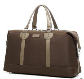 Superior Quality Man Fashion Large Waterproof Travel Bag Nylon & PU Leather Handbag Shoulder Messenger Bag, Black Blue & Coffee(China (Mainland))