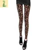 Free shipping High Elastic Design sexy Women Design Vintage graffiti Leggings fashion Slim Fit -WZ