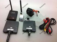 For RC plane 5.8G Video AV System FPV 400mW TX RX +720P Camera+ 2pcs 11dB 6Km