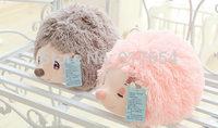Cute Pink and Grey Stuffed Hedgehog Toys