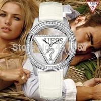 Free Shipping triangular hollow men casual fashion quartz watch ladies diamond Ms. G watches exquisite fashion watches