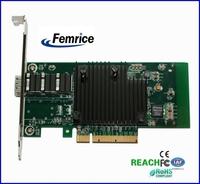 10 Gigabit Single sfp Slot  SFP Slot Card Big Black Heat Sink PCIe x8 Network Interface Card