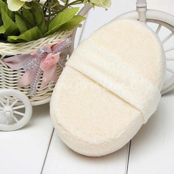 New Natural Loofah Bath Shower Body Washing Sponge Scrubber Exfoliator Pad S7NF(China (Mainland))
