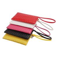 Scolour Women Clutch Purse Bag PU Leather Satchel Handbag Rhombus Pattern