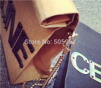 Kraft Paper Clutch Bag