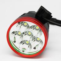7000LM Bicycle Lights and Headlamp 6pcs CREE XML T6 7000 Lumen LED Bicycle Bike Headlamp Headlight Torch Light