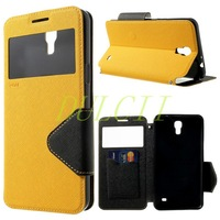 ROAR KOREA Diary View Stand Leather Flip Cover for Samsung Galaxy Mega 2 G750F G7508 10 Colors Free Shipping