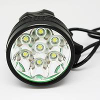 8500LM Bicycle Lights and Headlamp 7pcs CREE XML T6 8500 Lumen LED Bicycle Bike Headlamp Headlight Torch Light