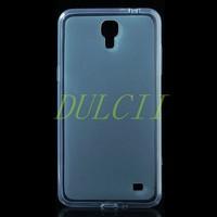 Glossy TPU Shell Case WithDustproof Plugs for Samsung Galaxy Mega 2 G750F G7508