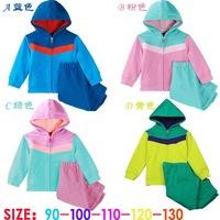 Spring autumn baby Boys TOP Brand clothing set children shampooers hoodies jacket + pants kids clothes sets coats
