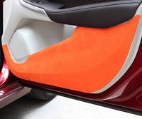 2013-2015 Volvo V40 door kick pad body stickers 4pcs/set free shipping