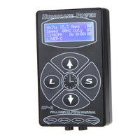 "Hot sale Tattoo Power Supply Professional Hurricane HP-2 Digital LCD Display Tattooing Machine Kit Body Art 2.5"""