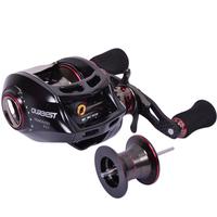 Superior HAIBO Ultra-light Baitcasting Fishing Reels ARISE200  13+1BB Dual Spools Left Hand Version Baitcaster