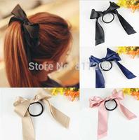 2014 Hot Fashion Boutique Bows Hair Accessories Wholesale scrunchy Elastics For Hair Girls Headwear Hair Band x080