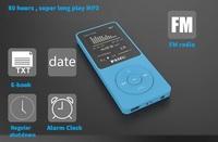 "Can play 80 hour Enthusiasts 1.8"" 4GB 8GB Music Players 4gb mp3 player HIFI level lossless sound quality Original RUIZU X02"