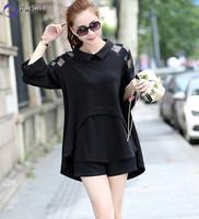 2014 New Women Shirt Fashion Plus Size Loose Slim Shirts Free Shipping c1337