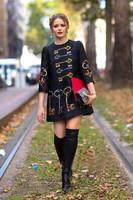 Free shipping 2014 brand new winter woman A line print casual dress colorful key print vintage dress