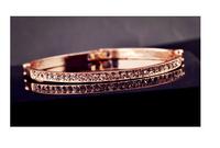 2014 new Korean ladies fashion personality temperament simple wild super flash superfine bracelets   S6031