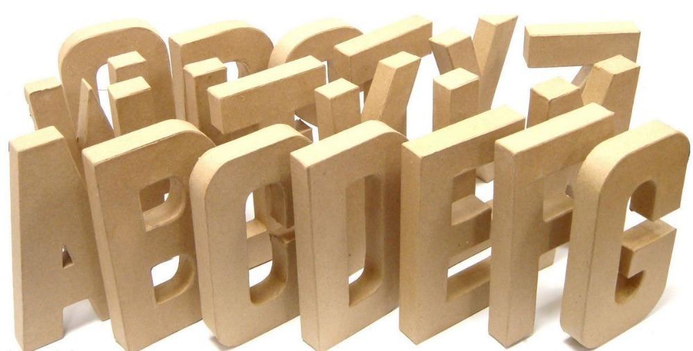 Popular Cardboard Letters 3d Buy Popular Cardboard Letters