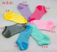 Ms. striped socks cotton socks new socks factory wholesale free shipping