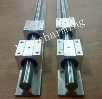 6pcs SBR25-500/700/1150mm 25mm FULLY SUPPORTED LINEAR RAIL SHAFT  +12pcs SBR25UU bearing blocks for CNC