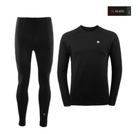 2014 New Men's Outdoor Sports Thermal Underwear Sets Polartec+Lycra Long Johns S, M, L, XL, XXL Drop Shipping men clothing
