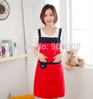 Free Shipping 2014 New Fashion Apron Kitchen Aprons Waterproof Cooking Apron Kitchen Aprons