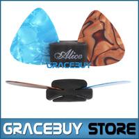 Alice Holder For Guitar Pick/ Plectrums 1 Pcs Guitare Case And 2 Pcs Guitarpicks Pics palheta