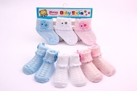 12 pieces/lot Baby Socks Cute Pattern Baby Outdoor Shoes Baby Anti-slip Walking Children Newborn Sock kid's Gift Fast Delivery