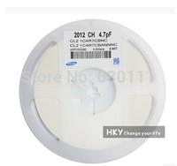 New original 4000PCS 0805 4.7PF 4.7P +-0.25PF NPO 50V chip SMD Ceramic capacitor