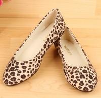 Fashion women Doug shoes wholesale shoes new flat shoes women leopard shoes size 35-41 s1105