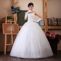 Girls lace dress lovely bridal princess slit neckline rhinestone lace strap wedding qi lace dress