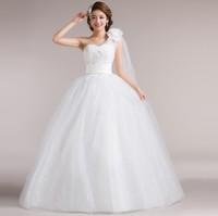 2014 new arrival wedding dress tube top wedding dress formal dress sweet princess puff skirt wedding dress