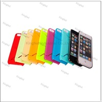 200pcs/Lot  Card ID Slot PC Plastic Case Cover for iPhone 5
