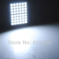 48 5050 SMD Pure White LED Panel T10 BA9S Dome Festoon Adapter Light Lamp Bulb