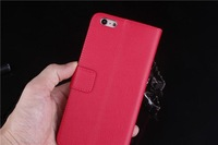 """5.5"""" Phone Case For iPhone 6 Plus Fashion Litchi Flip Pu Leather Wallet Cover For iPhone6 Plus 5.5 Mobile phone Bags Cases Pouch"""