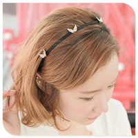 hair pinfree shipping elegant crystal small wings narrow hairband for lady gift 3 colors LP-20