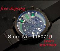free shipping Welder by K38 Chronograph Steel Unisex Watch White Rubber Strap K38 Green flag Watch