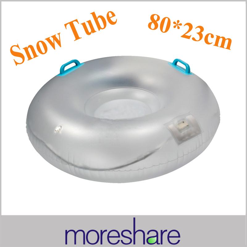2014 New Snow Tube Sled for Kids 80CM Inflatable Sledge Sleigh for Children Skiing Swim Tube Christmas Gift Inner Tube Snow Sled(China (Mainland))