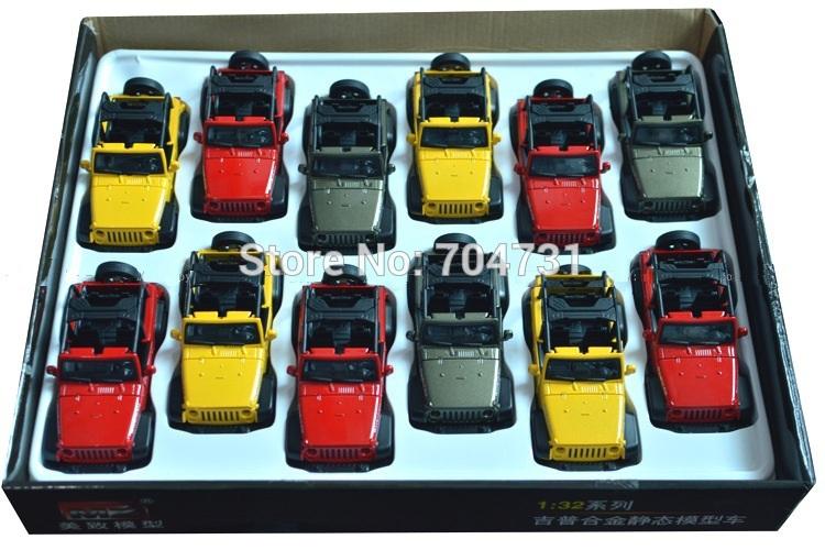 LOT OF 144 PCS DIE CAST CAR SCHALE 1/32 SUV CONVERTABLE(China (Mainland))