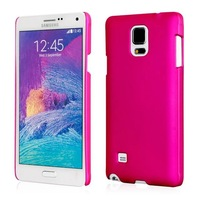 Luxury Matte Matt Hard Plastic Case For Samsung Galaxy Note4 note 4 N9100 Frosted Cover Slim Colorful Crystal Clear Skin 100pcs