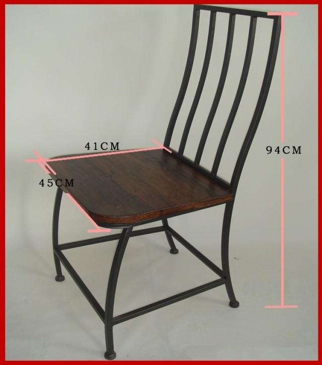 Online kopen wholesale goedkope tuinstoelen uit china goedkope tuinstoelen groothandel - Smeedijzeren stoel en houten ...