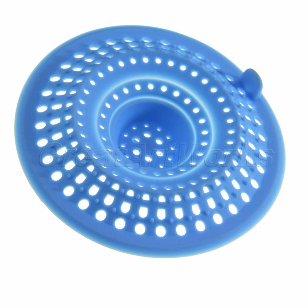 Baño Color Azul Pelo:Shower Drain Hair Catcher