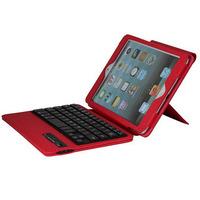 Free shipping PU Leather Wireless Bluetooth Detachable Keyboard Case cover for iPad mini 1 2 Retina