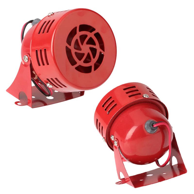 Universal Car Horns Speaker 12V 3'' 22 Automotive Motorcycle Horns Air Raid Siren Horn Car Truck Motor Driven Alarm Red(China (Mainland))