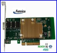 Femrice 10Gbps Single Port Fiber Optical Ethernet Network Card