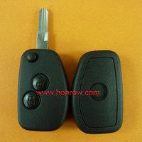 Renault 2 button  modified  flip remote key blank No logo