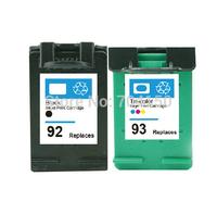 2PK Cartridge for HP 92 Black & for HP 93 Color ink cartridges for HP Deskjet 5440/5420v/5440v/5442/5443/D4160 Printer